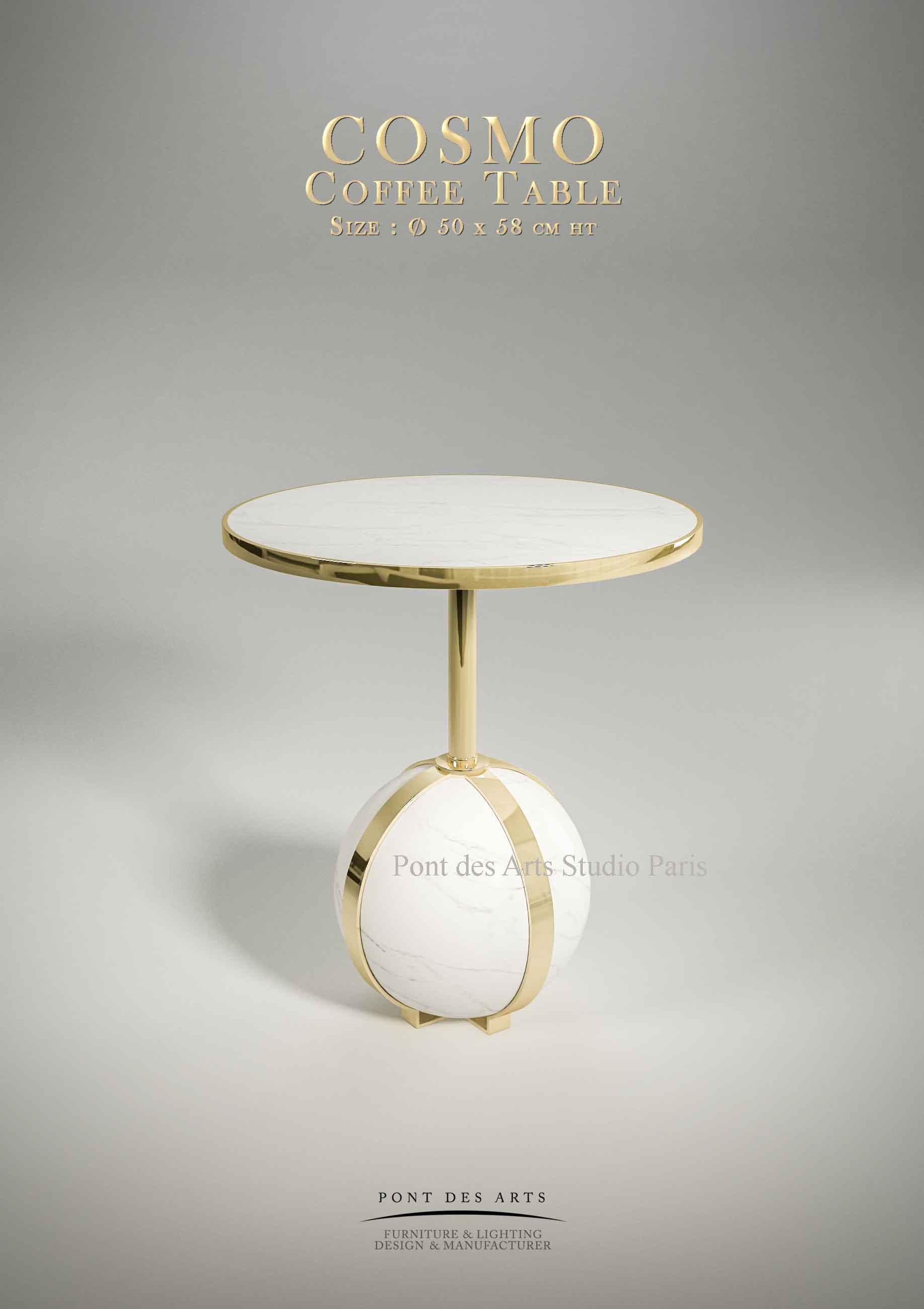 Cosmo Coffee Table Pont Des Arts